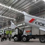 PT Kyokuto Indomobil Manufacturing Resmikan Pabrik Alat Berat