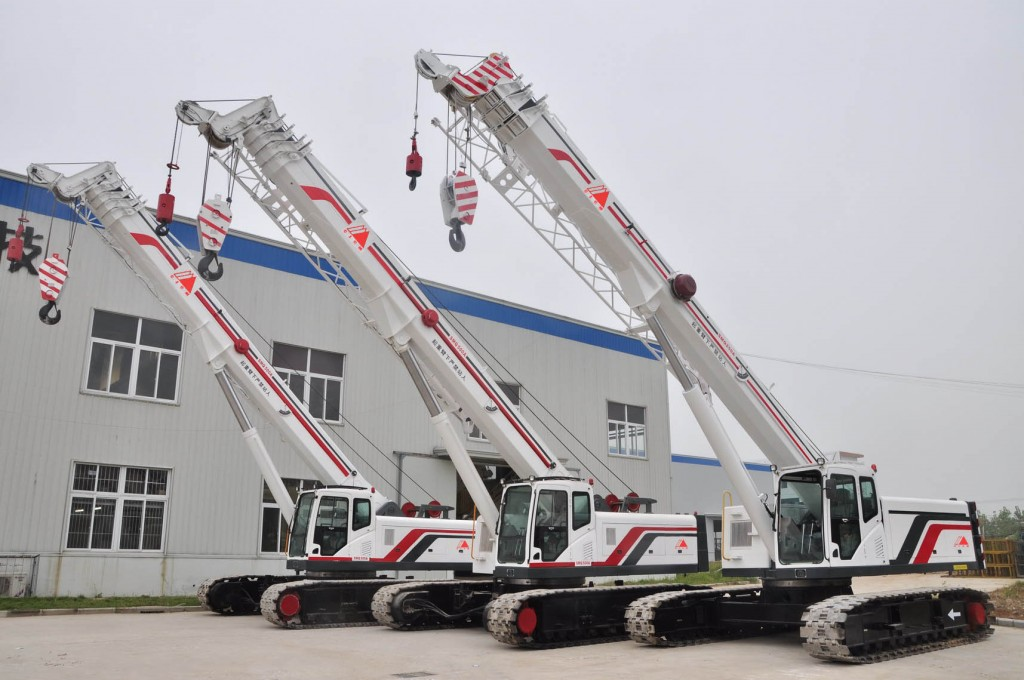 Telescopic-Boom-Crawler-Cranes-Alat berat Blog