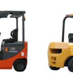 Menjalankan Forklift Listrik atau Diesel ?