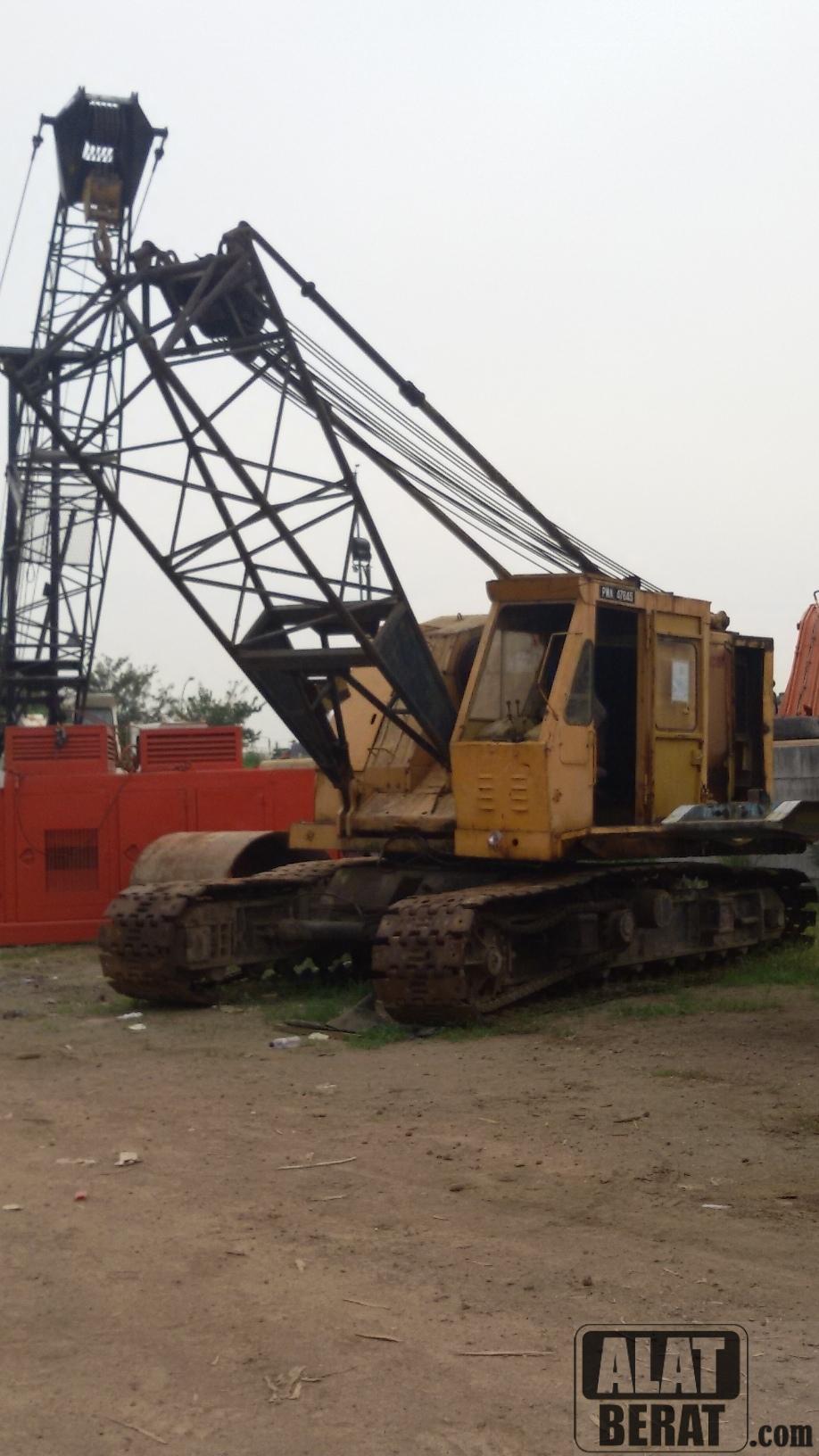 Link Belt Crawler Cranes : Link belt ls bss crawler crane